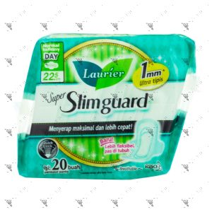 Laurier Super Slimguard Day Wing 22.5cm 20s