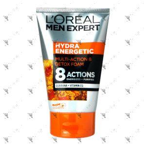 L'Oreal Men Hydra Energetic Detox Facial Foam 100ml