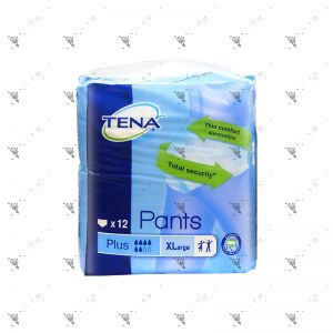 Tena Pants Plus X-Large 12S