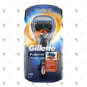 Gillette Fusion Proglide Flexball Razor 1s