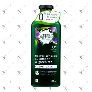 Clairol Herbal Essence Conditioner 400ml Cucumber & Green Tea