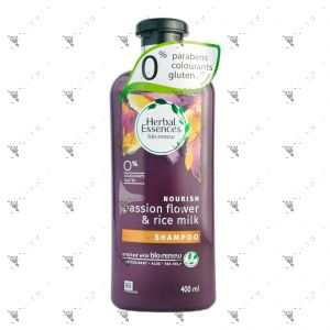 Clairol Herbal Essence Shampoo 400ml Passion Flower & Rice Milk