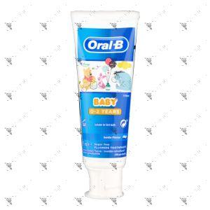 Oral-B Toothpaste 0-2 Years Old Winnie The Pooh 75ml