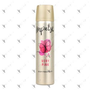 Impulse Body Spray 75ml Very Pink