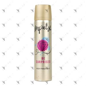 Impulse Body Spray 75ml Be Surprised