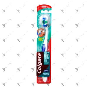 Colgate Toothbrush 360 Whole Mouth Clean Medium 1s