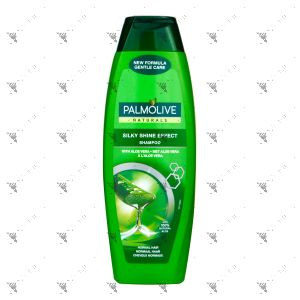 Palmolive Shampoo 350ml Silky Shine Aloe Vera