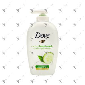Dove Hand Wash 250ml Caring Wiith Cucumber and Green Tea Scent