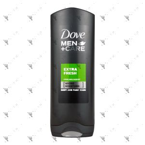 Dove Men+Care Body & Face Wash 250ml Extra Fresh
