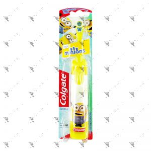 Colgate Kids Toothbrush Battery Power Minions Extra Soft 1s