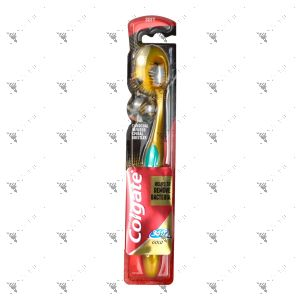 Colgate Toothbrush 360 Gold Charcoal Soft 1s