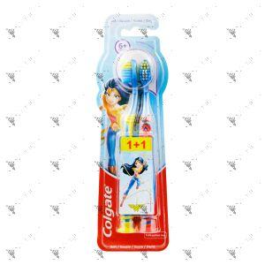 Colgate Toothbrush 6+Years Old Wonder Woman 2s Soft