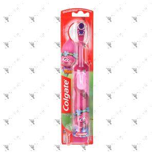Colgate Toothbrush Battery Power Trolls Extra Soft 1s