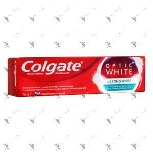Colgate Toothpaste Optic White 75ml Lasting White