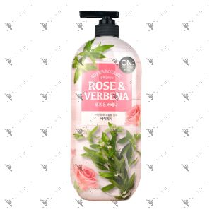 On The Body Bodywash 865ml Rose & Verbena