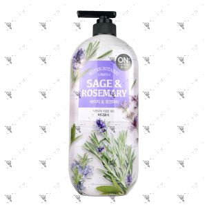 On The Body Bodywash 865ml Sage & Rosemary