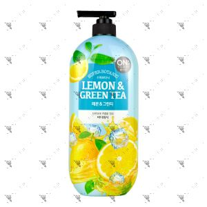 On The Body Bodywash 865ml Lemon & Green Tea