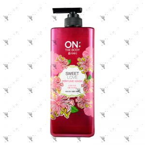 On The Body Bodywash 900ml Sweet Love