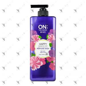 On The Body Bodywash 900ml Happy Breeze