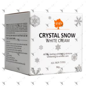 Eve's Crystal Snow White Cream 50g