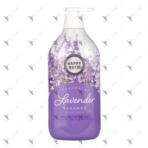 Happy Bath Essence Body Wash 900g Provence Lavender Relaxing