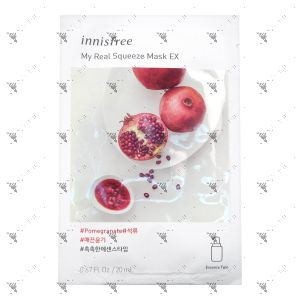 Innisfree My Real Squeeze Mask Ex Promegranate 1s