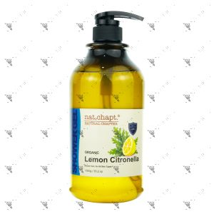 Nat.Chapt. Organic Citronella Lemon Shower Gel 1000g