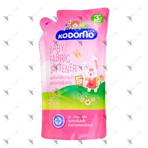Kodomo Baby Fabric Softener Refill 600ml Pink
