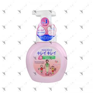 Kirei Kirei Family Foaming Moisturizing Peach Hand Soap 250ml