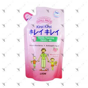 Kirei Kirei Family Foaming Moisturizing Peach Hand Soap 200ml Refill