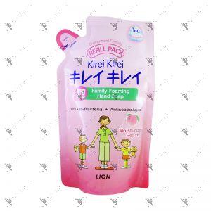 Kirei Kirei Family Foaming Moisturizing Peach Hand Soap 200ml Refill