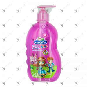 Kodomo Kids Head to Toe Wash Fruity Berry 400ml
