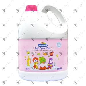 Kodomo Baby Fabric Wash 3000ml Sweetie Care