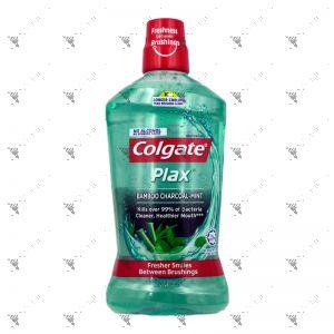 Colgate Plax Mouthwash 1L Bamboo Charcoal-Mint