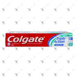 Colgate Toothpaste Triple Action 200g Original Mint