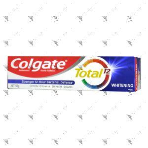 Colgate Toothpaste 150g Total 12 Whitening Paste