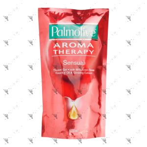 Palmolive Aroma Therapy Shower Gel Sensual 600ml Refill
