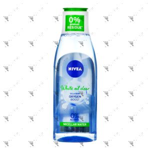 Nivea White Oil CLear micellar Water 200ml For Dull Oily Skin