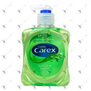 Carex Antibacterial Handwash Pump 250ml Aloe Vera Green