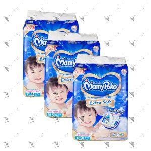 MamyPoko Extra Soft Tape Diaper X-Large 50S (1Carton=3packs)