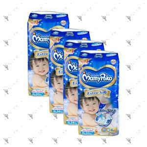 MamyPoko Extra Soft Tape Diaper X-Large 34S (1Carton=4pack)