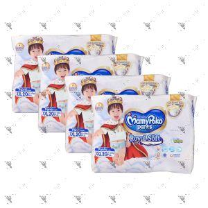 MamyPoko Royal Soft Pants (Boys) XX-Large 20S (1Carton=4pack)