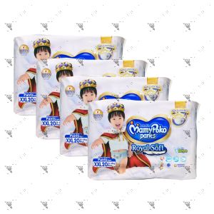 MamyPoko Royal Soft Pants (Boys) XX-Large 20S (1Carton=4pack)