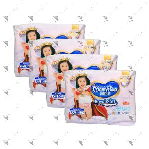 MamyPoko Royal Soft Pants (Girls) XX-Large 20S (1Carton=4pack)