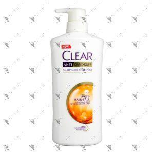 Clear Shampoo 650ml Anti Hair Fall