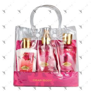 Dear Body Charm Seduction Body Lotion 125ml + Fragrance Mist 125ml + Body Wash 125ml