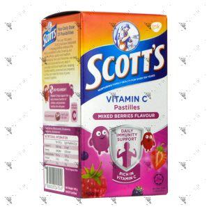 Scott's Vitamin C Pastilles 50s Mixed Berries