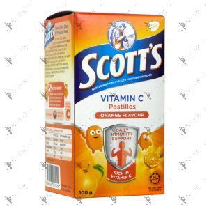 Scott's Vitamin C Pastilles 50s Orange