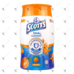 Scott's DHA Gummies 60s Orange