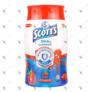 Scott's DHA Gummies 60s Strawberry